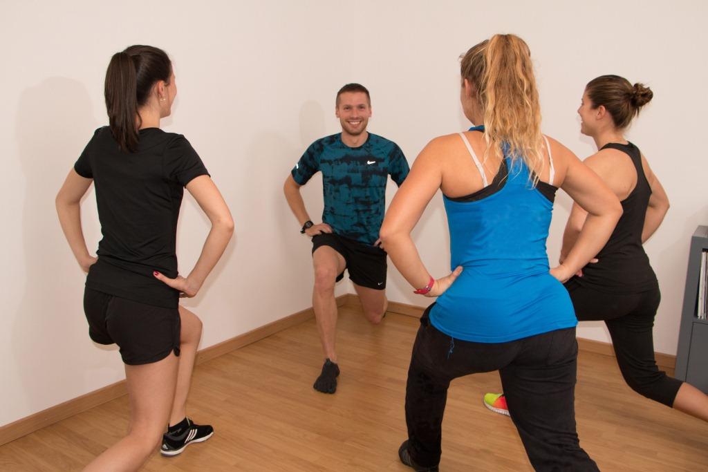 Flavien coach sportif personnel cours de fitness